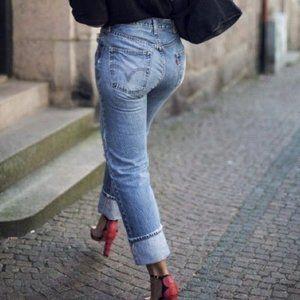 VTG Levis 501 Medium Wash Single Seam Jeans 28/32